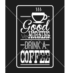 Coffee design vector 3289477 - by Giuseppe_R on VectorStock®