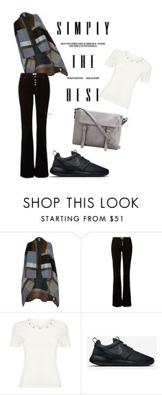 """Untitled #27"" by alva-hillborg ❤ liked on Polyvore featuring River Island, Precis Petite, NIKE, women's clothing, women, female, woman, misses and juniors"