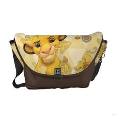 Lion King Simba on Triangle Pattern Messenger Bag , Lion King Nursery, Lion King Baby, Lion King Simba, Disney Lion King, Pack Your Bags, Triangle Pattern, Baby Disney, Beautiful Bags, Future Baby