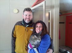 Cooper is going home with his new mom and dad.