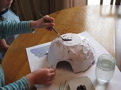 Almost Unschoolers: Hibernation Craft