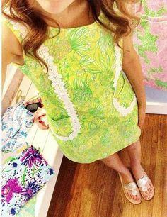 Lilly Pulitzer Shift Dress via em_pressions on Instagram