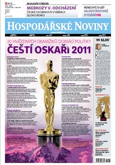 Čeští Oskaři 2011: Podívejte se na 20 hvězdných okamžiků domácí politiky