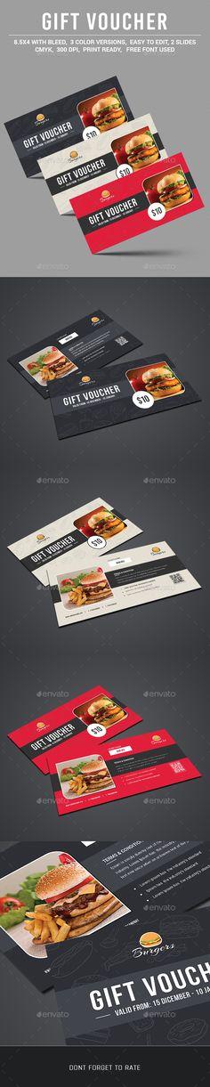 Gift Voucher Template PSD #design Download: http://graphicriver.net/item/gift-voucher/13101904?ref=ksioks