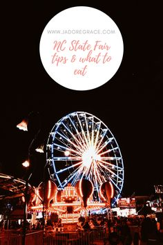 Jadoregrace.com// NC State Fair tips & What to Eat American Festivals, Fried Mac And Cheese, I Kid You Not, Free Park, Lifestyle Blog, Letting Go, Haha, Southern, Let It Be