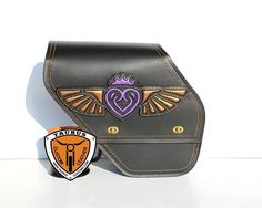 Custom Motorcycle Swingarm Bag for Harley Davidson Dyna Low