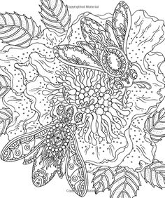 """Magical Dawn Coloring Book: Published in Sweden as """"Magisk Gryning"""": Hanna Karlzon: 9781423646594: Books - Amazon.ca"""