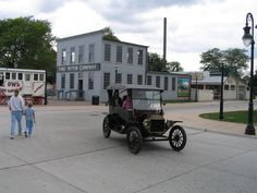 Ford Motor Company and Model T @ Greenfield village, Detroit
