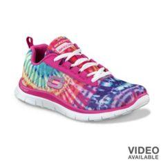 Skechers Tie Dye Tennis Shoes