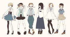 cute clothes inspired by the sailor collar