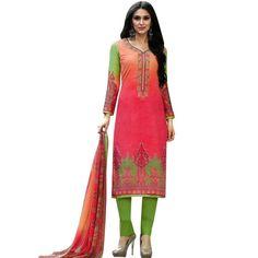 Readymade Cotton Printed Sober Embroidery Salwar Kameez Suit India  #ShopNow #NewStuff #LowestPrice #Designer #SalwarSuit #FreeShipping #SalwarKameez #DressMaterial