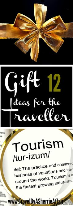 Some great ideas for that traveller you know.  Everyone travels somewhere-sometime so why not get a little something to make their holiday easier, less stressful or just more organized!  Check out these gifts! #Gifts #holiday #travellergifts #travel #traveller #stressfree #luggage #packback #passport #journal
