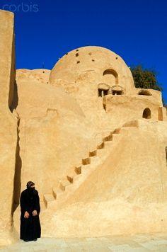 Egypt, Lower Egypt, Western Desert, Wadi Natrun, Coptic Monastery of Saint Pschoi (Deir Anba Bishoi)