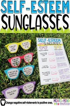 Increase your student's self-confidence and self-esteem by changing their negative self-statements to positive self-statements using this fun activity. Great for small group counseling or class lessons. School counseling must have that addresses ASCA standards and SEL competencies.