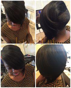 Short cut  Shaved sides  Feathered bang  Instagram: jstyle_em Facebook: Jstyle'Em