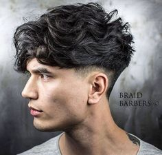 braidbarbers Long heavy textured crop with undercut & wedge. Styled with @adhbrand dry paste.
