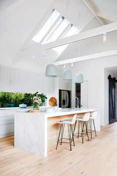 Love to feel minty fresh? Try giving your kitchen a little bit of tinted love with pastel pendant lights. Softer shades can be just the right amount of subtle colour to mix into a...