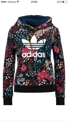 buy online ad472 820c2 Stickat, Blommiga Utskrifter, Tröjor, Huvtröjor, Kläder, Adidas Originals