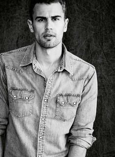 Theo James. I know i'm pinning a ton of his pics. but come on... just look at him. :)