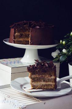Tarta de Chocolate Cafe y Mascarpone I Cake 4 U Video Rezept Best Chocolate Cake, Chocolate Cafe, Chocolate Desserts, Sweet Recipes, Cake Recipes, Drip Cakes, Vanilla Cake, Oreo, Cake Decorating