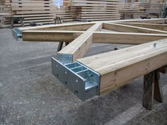 Connection system for timber structure RESIX® by Simonin