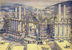 Tony Garnier | Une Cité Industrielle | 1918