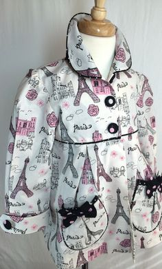Girls dress coat by SewCuteMami on Etsy