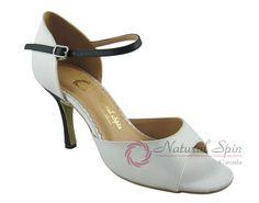 Natural Spin Tango Salsa Shoes/Tango Shoes/Fashion Shoes(Open Toe):  T1102-07a_I