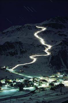 wonderous-world:    Val d'Isère, France, Europe by George F. Mobley