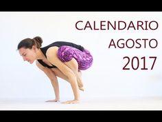 Calendario de Rutinas AGOSTO  07/08 - 31/08 2017 | MalovaElena - YouTube