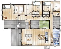 House Layouts, House 2, Future House, House Plans, Floor Plans, House Design, Flooring, How To Plan, Interior Design