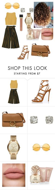 """""""Fashionista"""" by karrington-bolton ❤ liked on Polyvore featuring Dsquared2, Chloé, Michael Kors, Vince Camuto and Jouer"""