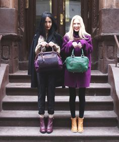 F/W 2012 PORTRAIT feat. COCOROSA + FROUFROUU   Never match shoes and bags  @Nadia Sarwar