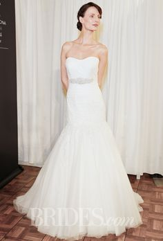 Luna Novias Wedding Dresses Spring 2015 Bridal Runway Shows Brides.com | Wedding Dresses Style | Brides.com