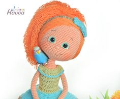 ❤ Welcome to Havva Designs Patterns Store ❤ ❥ This listing is for an amigurumi pattern, not the finished toy. ❥ Crochet pattern in pdf format, and emailed to you within 24 hours of your payment! ❥ Please add your email address your order when you purchase a product. ❥ This pattern is available in English, Deutsch, Spanish Français, and Turkish Languages. ❥The bird in the pictures is not an amigurumi pattern, it is just only photo decoration. ❥ The country flags added to corners of pictures…