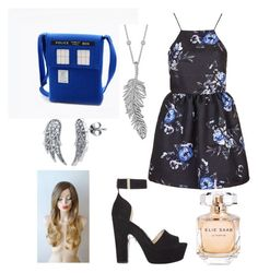 """""""Untitled #30"""" by ssiv on Polyvore featuring Topshop, Nicholas Kirkwood, Penny Preville, BERRICLE and Elie Saab"""