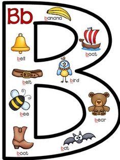 Back to School Alphabet Activities Preschool Learning Activities, Alphabet Activities, Preschool Worksheets, Tracing Worksheets, Alphabet Worksheets, Alphabet Phonics, Phonics Words, Alphabet Crafts, Alphabet For Toddlers