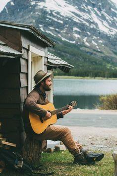 betomad: Benjamin at Swiftcurrent Lake, Montana, U.S. photo by...