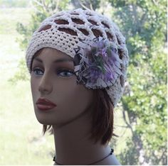 Check out this item in my Etsy shop https://www.etsy.com/listing/534007525/womens-crochet-hat-summer-cotton-hat