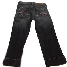 "See Thru  Soul  Capri Jeans 20"" inseam  26 "" waist See thru Soul Jeans"