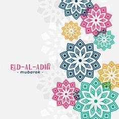 Eid al adha arabic greeting with islamic... | Free Vector #Freepik #freevector #background #pattern #islamic #animal Motifs Islamiques, Islamic Motifs, Islamic Art, Eid Mubarak Banner, Eid Mubarak Vector, Eid Al Adha Greetings, Eid Mubarak Greeting Cards, Happy Eid Al Adha, Happy Eid Mubarak