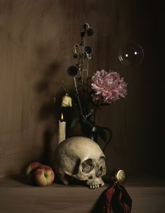 Nature morte à la vanité, photographie de Guido Mocafico, 2007.