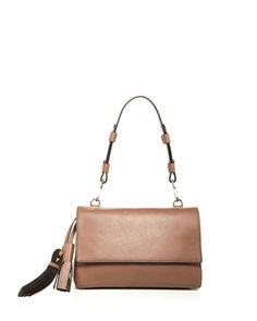 63dc361452c6 Max Mara Leather Shoulder Bag Leather Shoulder Bag