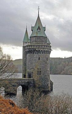 Lake Vyrnwy Straining Tower, Wales