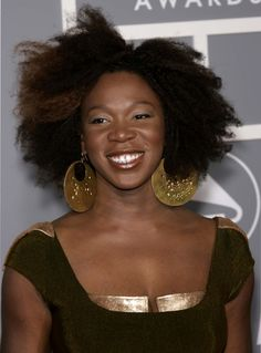 india arie always seems to be glowing with peace and gratitude.
