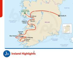 Lonely Planet: 6 FREE Ireland Lonely Planet Top Itineraries