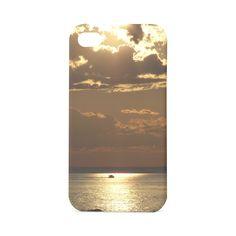 Awesome Sea Scene Custom Luminous Case for IPhone 4/4s 3D