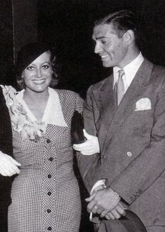 1930s Joan Crawford and Clark Gable