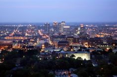 My birthplace - Birmingham, England.