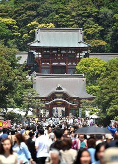 Le grand Bouddha de Kamakura n'est pas directement relié à la gare de Kamakura…